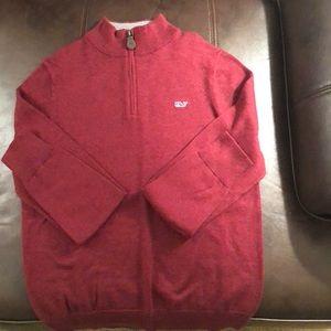 Vineyard Vines Classic 1/4 Zip Sweater